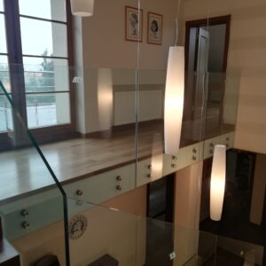balustrada szklana