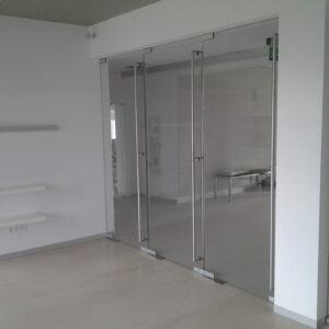 szklane drzwi unica