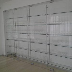 Szklane ścianki bezramowe Warszawa