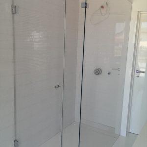 kabina prysznicowa ze szkła