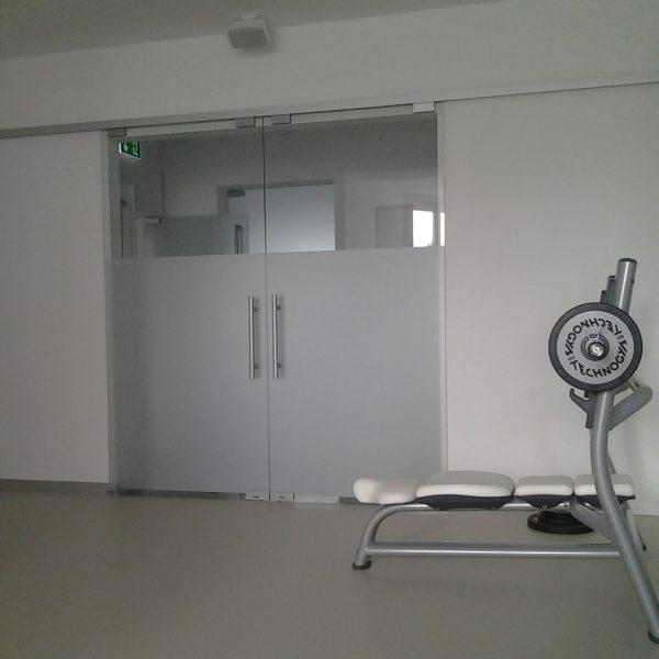 Szklane drzwi przesuwne Slack Warszawa